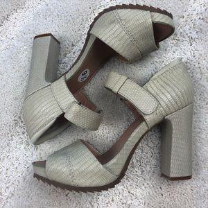 """7ff5d89957a3 Anthropologie Shoes - Bacio 61 """"Vivezza"""" heel sandals size 9.5"""